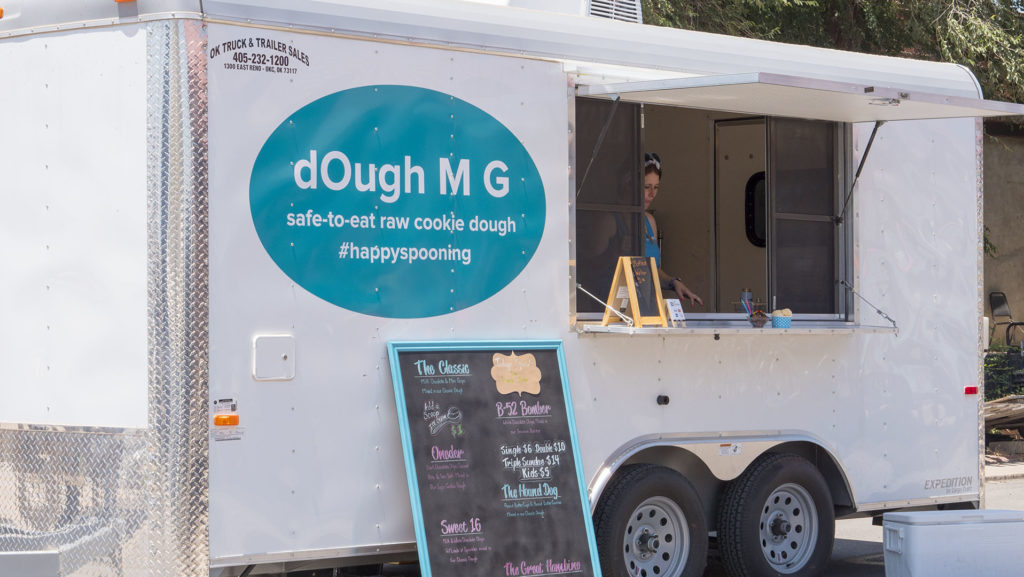 The dOugh M G Trailer - photo by Dennis Spielman