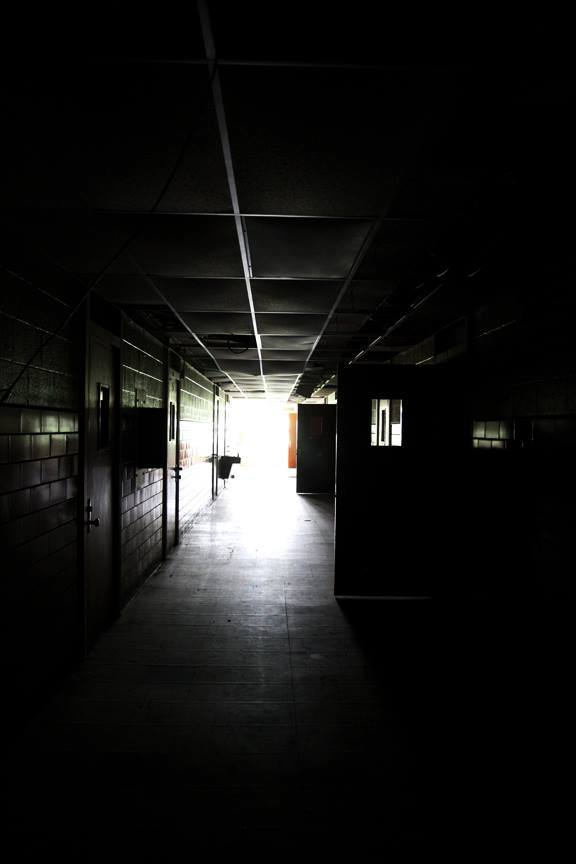 Creepy Hallway behind the Scenes of AXE