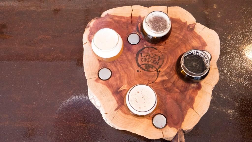 Lazy Circles Brewing - photo by Dennis Spielman