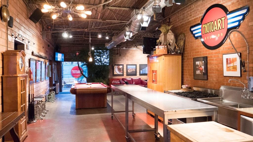 Inside PhotoArt Studios - photo by Dennis Spielman