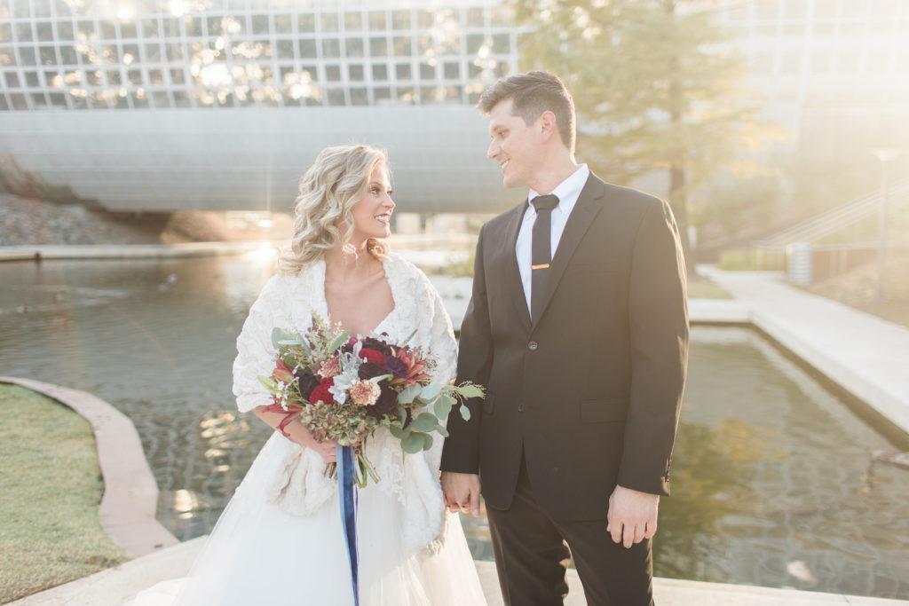 Myriad Gardens Wedding - Provided Photo