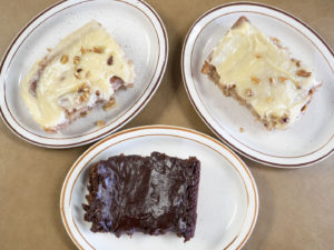 Cakes at Jimmy's Round-Up Cafe - photo by Dennis Spielman