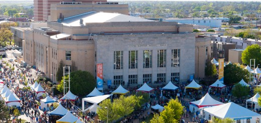 Festival of the Arts Aerial View photo by Dennis Spielman