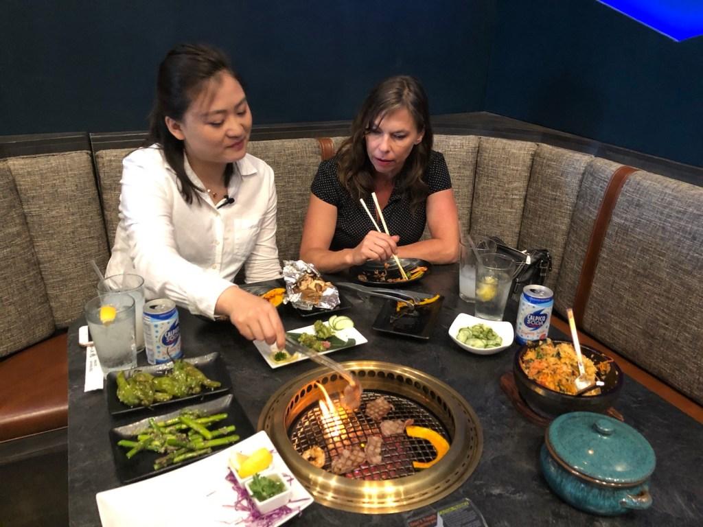 Wagyu Japanese BBQ with Jade and Heide - photo by Dennis Spielman
