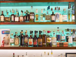 The Back Bar at the Winston - photo by Dennis Spielman