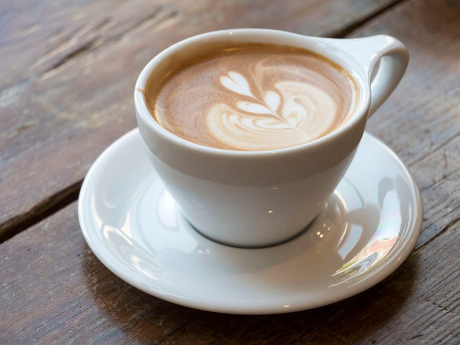 A Mocha from Outpost Coffee - photo by Dennis Spielman