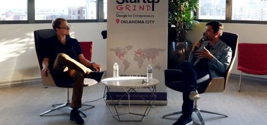 Chris Shilling at Startup Grind OKC