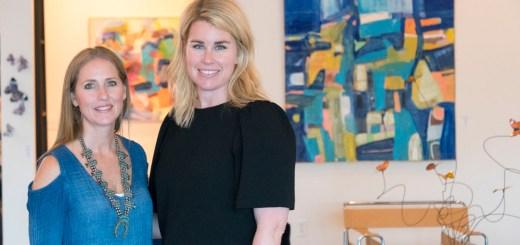 Christie Hackler and Katie Henderson - photo by Dennis Spielman