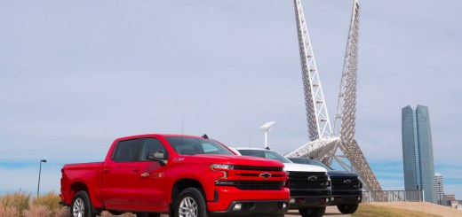 Chevrolet 2019 Silverado at the Skydance Bridge - photo by Dennis Spielman