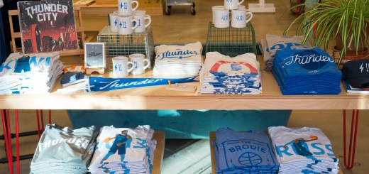 Thunder Gear at Shop Good - photo by Dennis Spielman