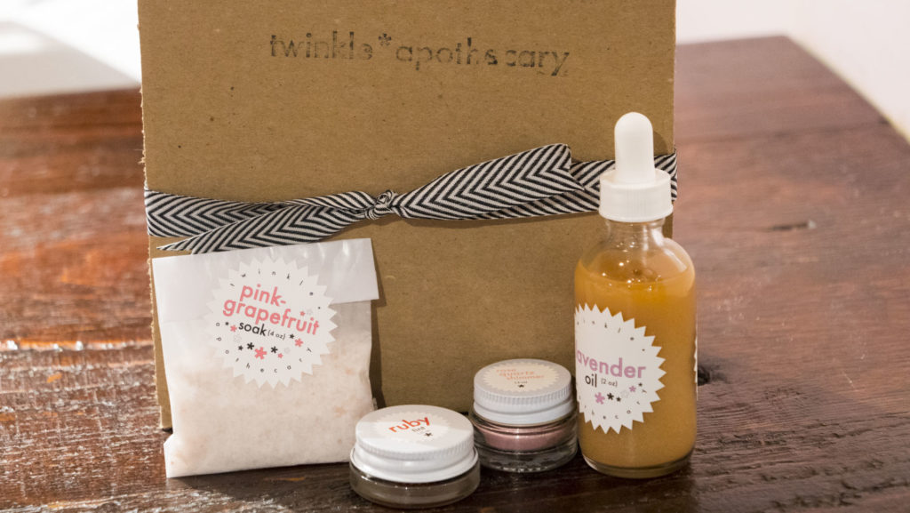 Gifts at Twinkle Apothecary - photo by Dennis Spielman