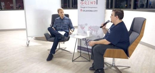 Jonathan Yarbor at Startup Grind OKC