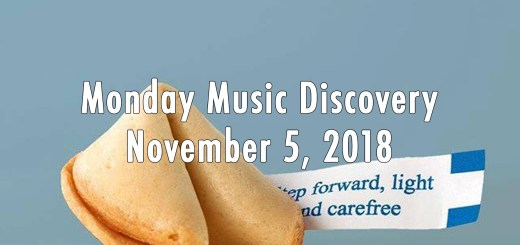 Monday Music Discovery for November 5, 2018