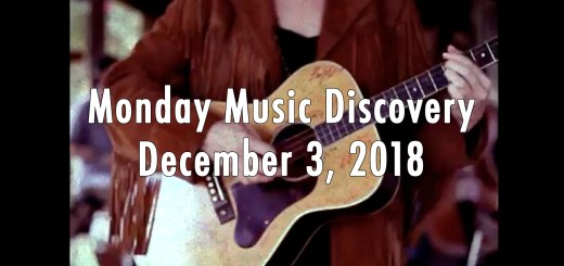 Monday Music Discovery for December 3, 2018