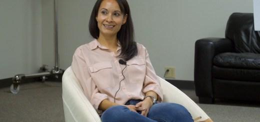 Erika Lucas at Startup Grind OKC