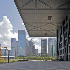 Shenzhen Stock Exchange Diagram Wabco Abs Kabel Reading Oma S Uncube The Ldquo Liberated Rdquo Space Under Awe Inspiring Cantilever Is Almost Excitingly Oppressive