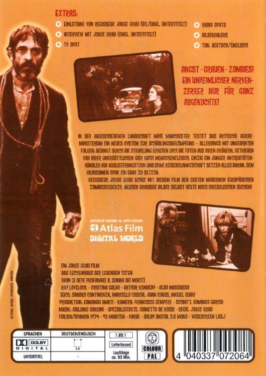 Das Leichenhaus Der Lebenden Toten DVD Uncut 00465