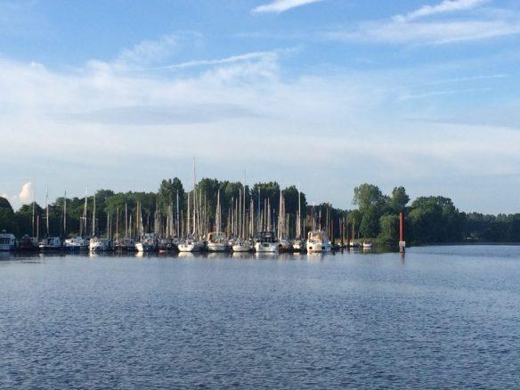 2016 Rückkehr Hafeneinfahrt