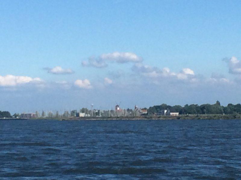Aber Willemstad bleibt backbord