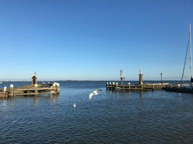 Ausfahrt Stadthafen Volendam