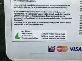 Doornburgh - Strom und Liegegeld per App