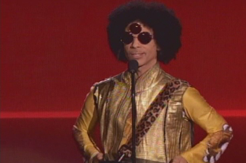 Prince at The American Music Awards