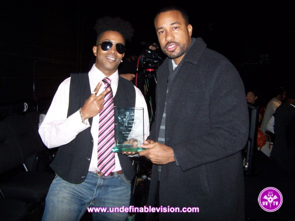 Undefinable Vision Executive Producer & Winner of Best Music Program Tabou TMF aka Undefinable One with Jason