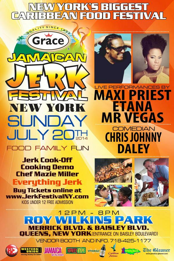 "Come ""See Things Different"" with Undefinable Vision TV at The Grace Jerk Festival 2014 Bring your smile and your summer style and be prepared to have fun."
