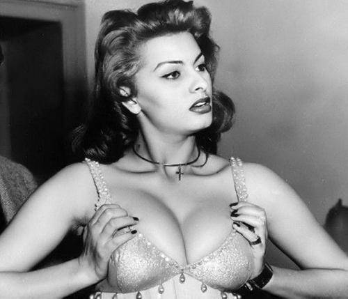 Young Sophia Loren
