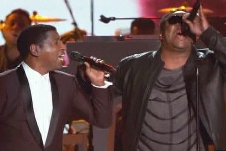 Babyface and Bobby Brown singing Tenderoni