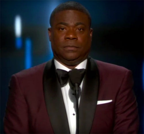 Tracy Morgan at The Emmys
