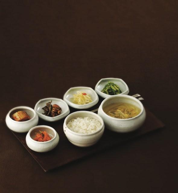 cuisine coreenne bases repas accompagnement riz kimchi nouilles