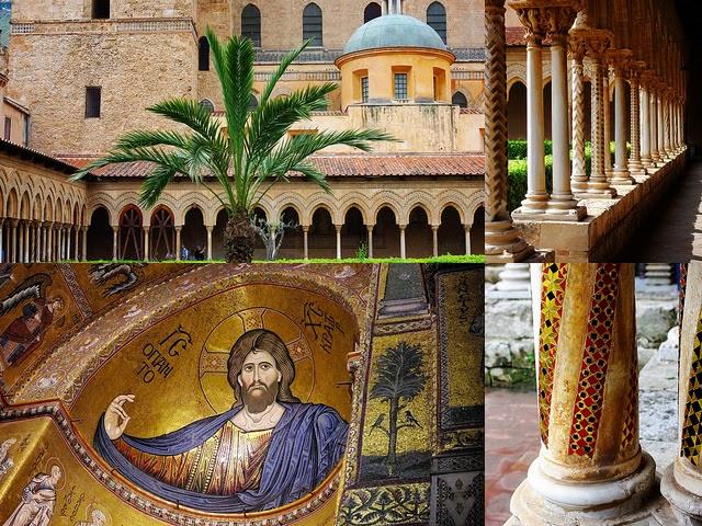 Monreale Duomo Palerme Sicile