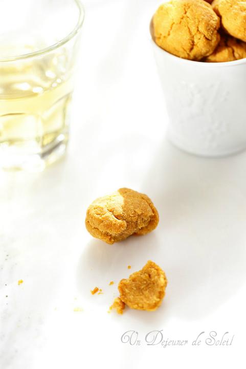 Biscuits apéritifs cacahouètes et maïs (sans gluten)