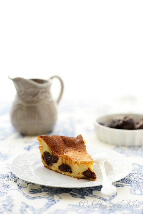 Far breton aux pruneaux (French plum flan)
