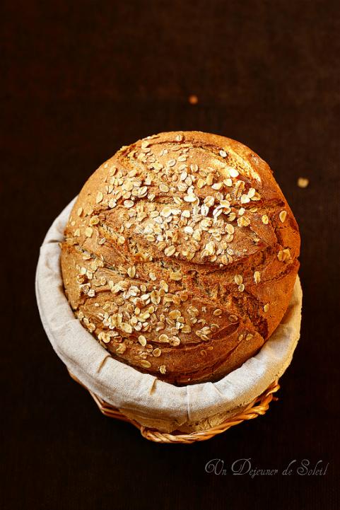 Pain de seigle facile - Rye bread