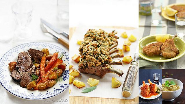 Recettes avec l'agneau - Recipes with lamb