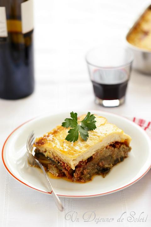 Moussaka grecque recette traditionnelle - Greek moussaka