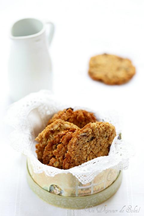 Cookies ou biscuits au muesli (fondants, croustillants et gourmands)