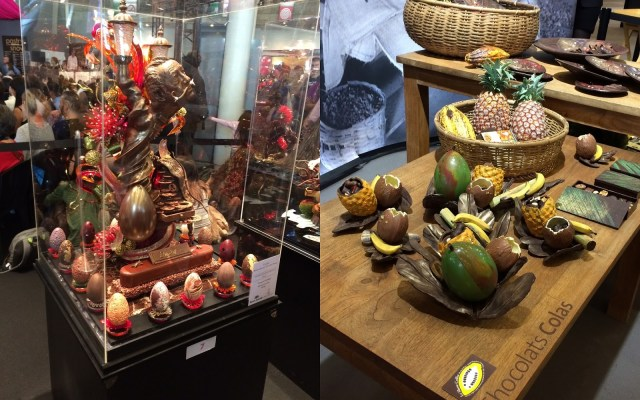 Salon du Chocolat - sculptures