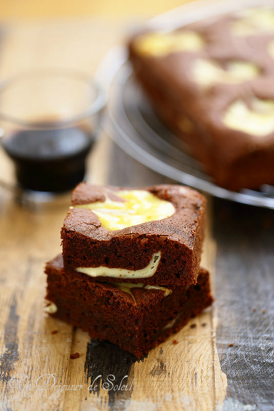 Brownie cheesecake (recette)