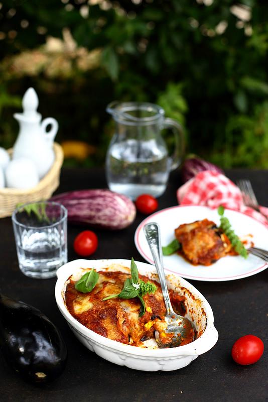 Parmigiana d'aubergines à la sicilienne