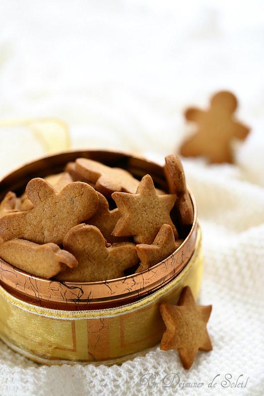 Biscuits scandinaves aux épices de Noël
