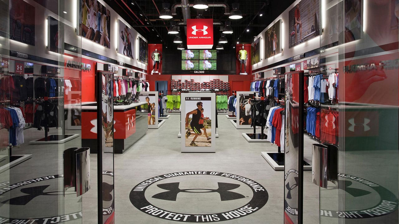 Magasin Sport Under Armour