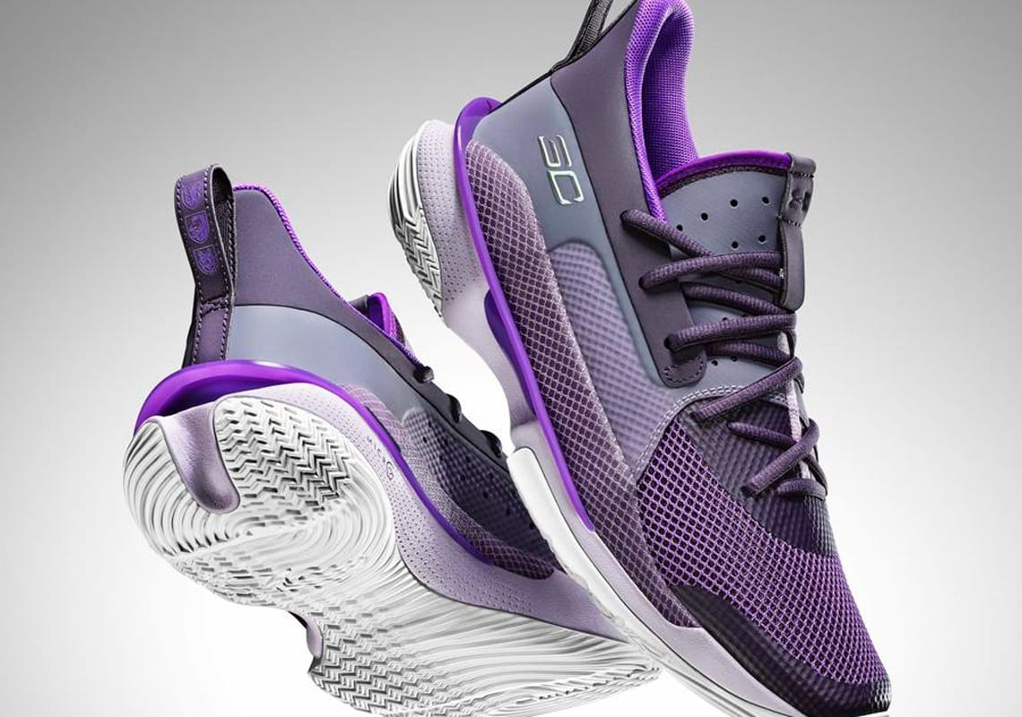 Chaussures de basket UA Curry 7 'BAMAZING' unisexes