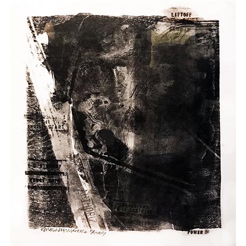 Robert Rauschenberg, Rack (from Stoned Moon portfolio), 1969