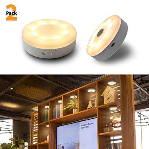 Bason USB Rechargeable Motion Sensor LED Night Light ...