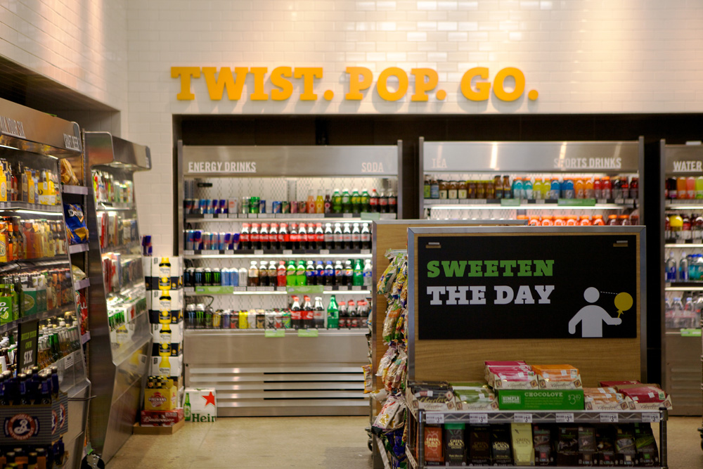 Brand New New Concept Store For 7 Eleven By WD Partners