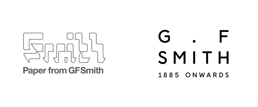 Brand New: New Logo and Identity for G . F Smith by Made