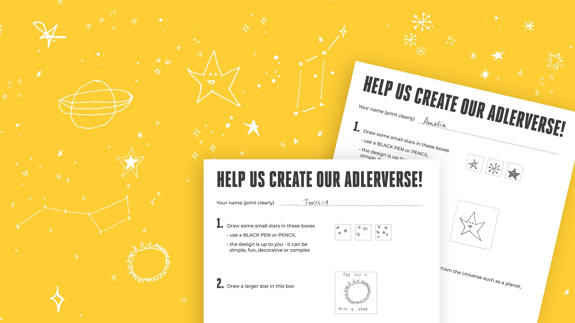 Aesthetic Wallpapers Yellow Stars Astronomy Worksheet